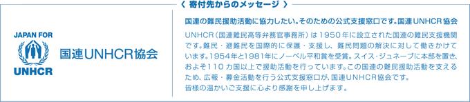 国際UNHCR協会
